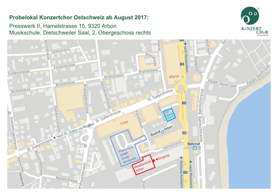 Kroki Konzertchor Ostschweiz